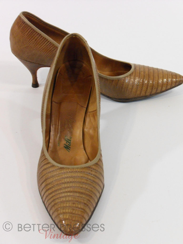 50s Alligator Pumps