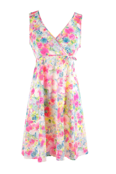 70s Nightie or Dress in Bright Pastels