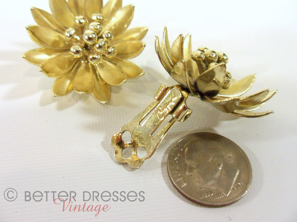 50s Coro Clip-On Earrings