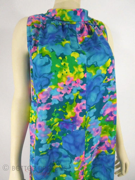 60s Hawaiian Tent Dress - sm, med, lg