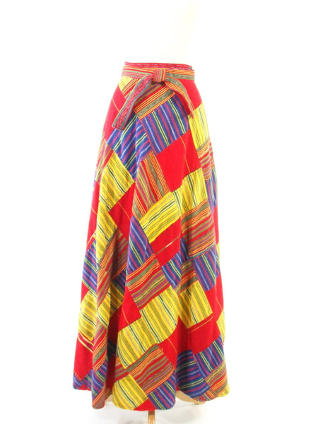Boho Patchwork Skirt