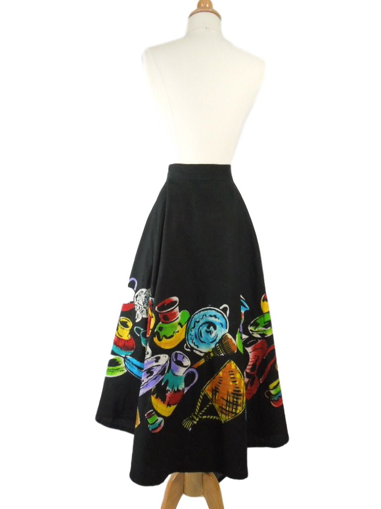 50s Mexican Circle Skirt - without crinoline