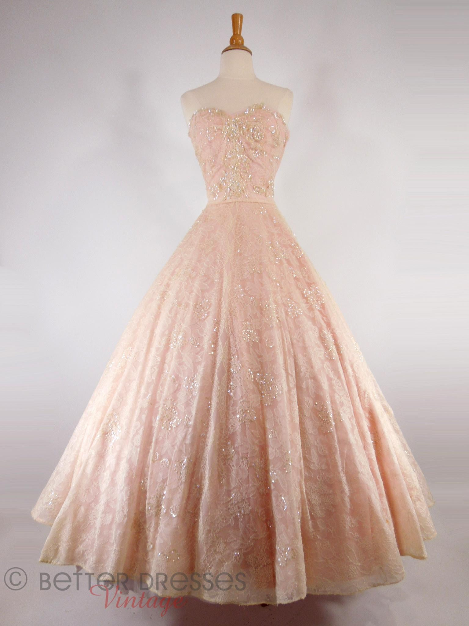2852b55b8c67 Vintage 1950s Ball Gowns
