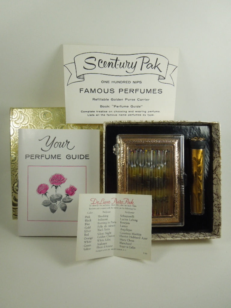 50s Set of 100 Perfume Nips in Unopened Original Box