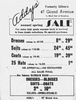 1948 Advertisement for Addy's