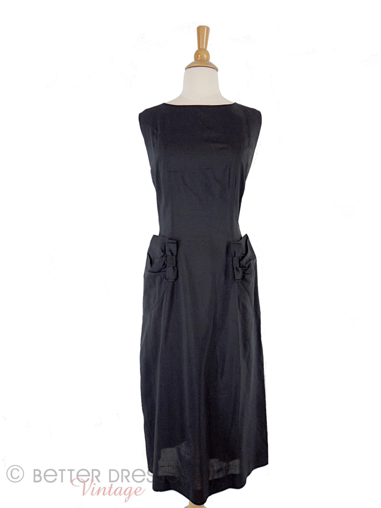50s Donovan of Dallas LBD - front against white background