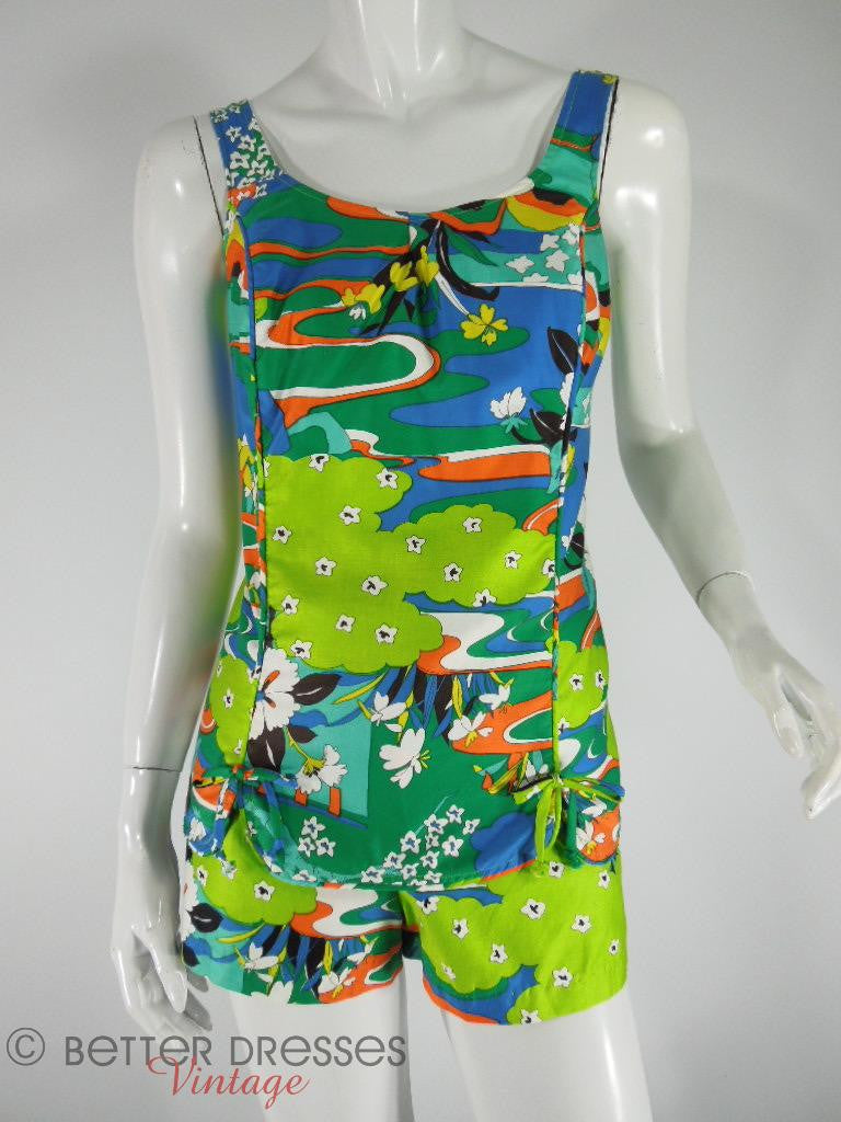 60s Swim/Play Suit by Roxanne - med