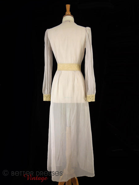 30s Hobert Dressing Gown - full view back