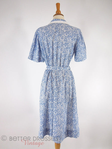 40s Day Dress - back view