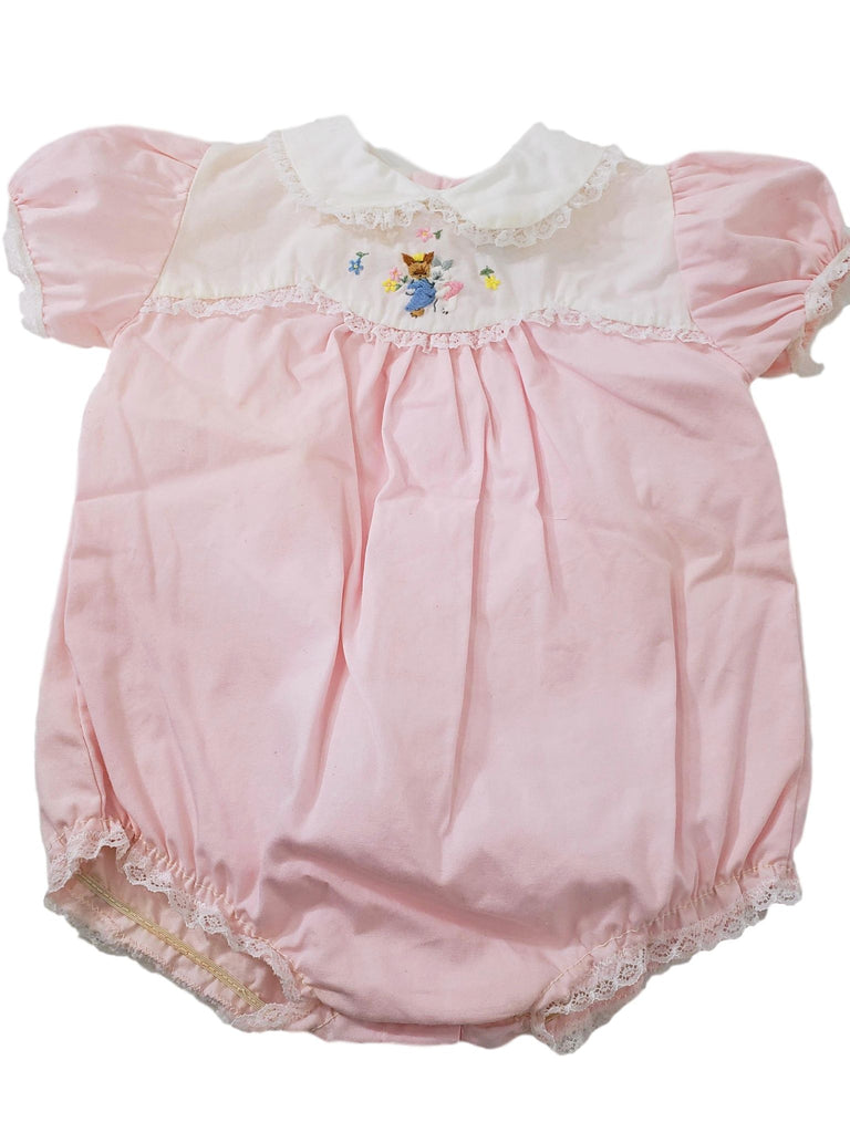 50s/60s Baby Bubble One-Piece Playsuit - 0-3 mos.