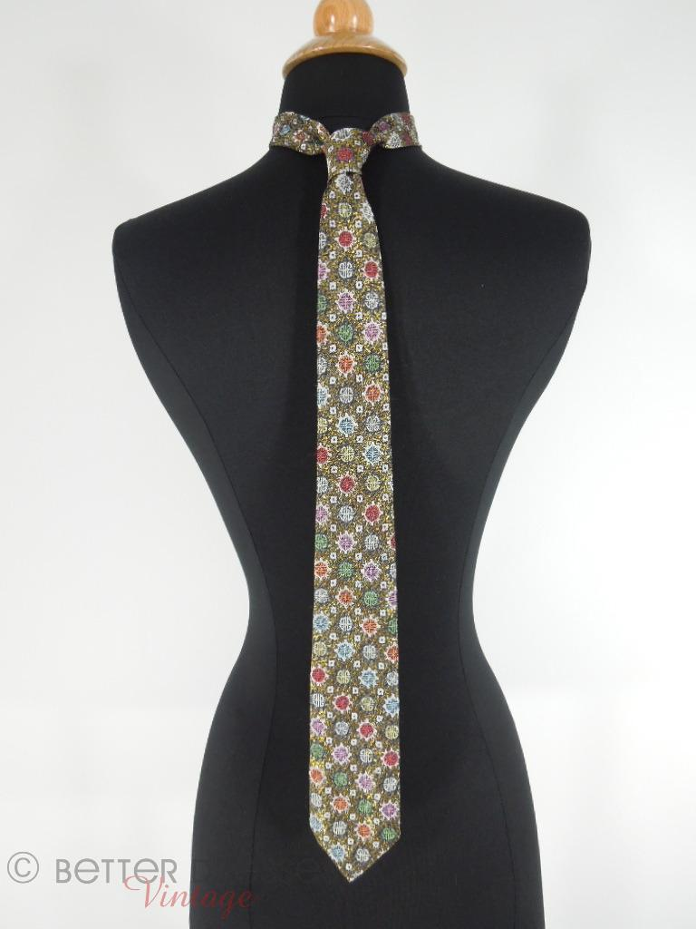 70s/80s Chinese Necktie from Corporate Uniform