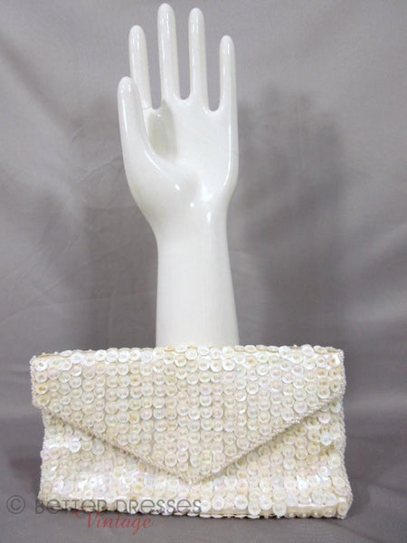 50s/60s Hand-Beaded Evening Clutch