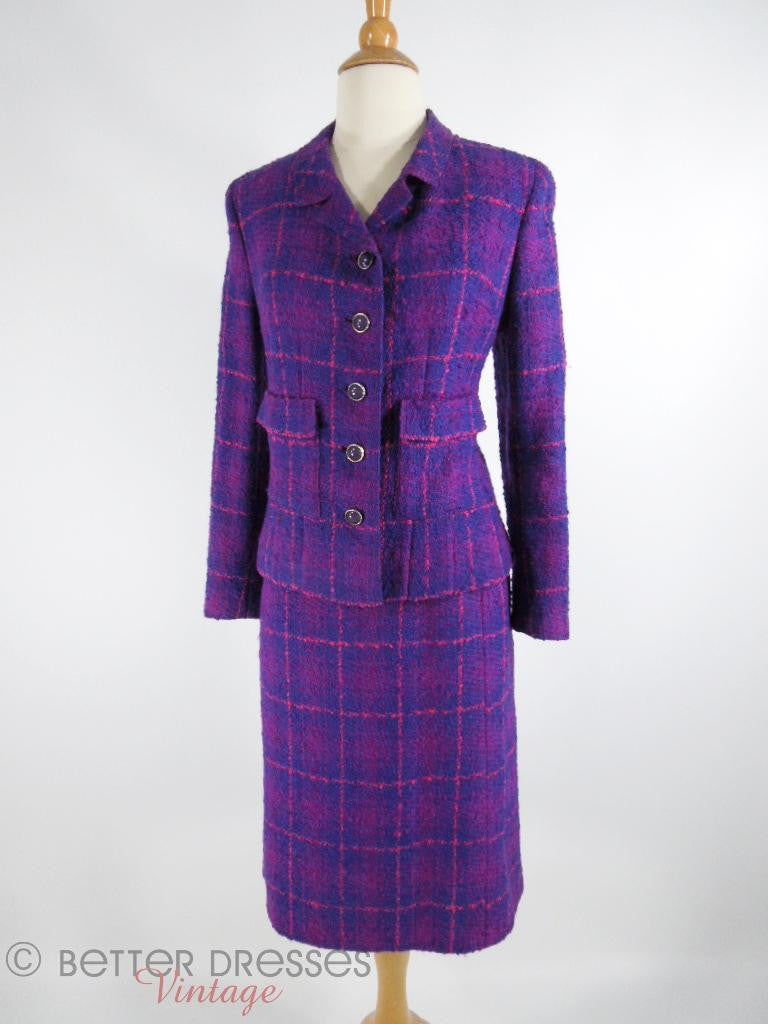 1960s Davidow Skirt Suit