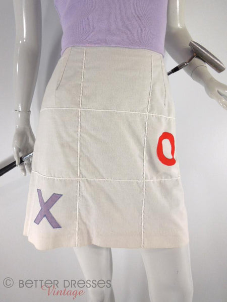 60s Q-SKIRT Golf Skort - close view