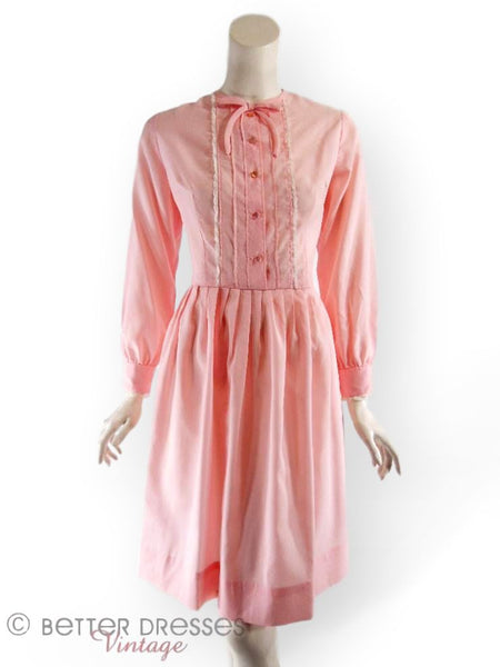 Early 60s Shirtwaist in Pink