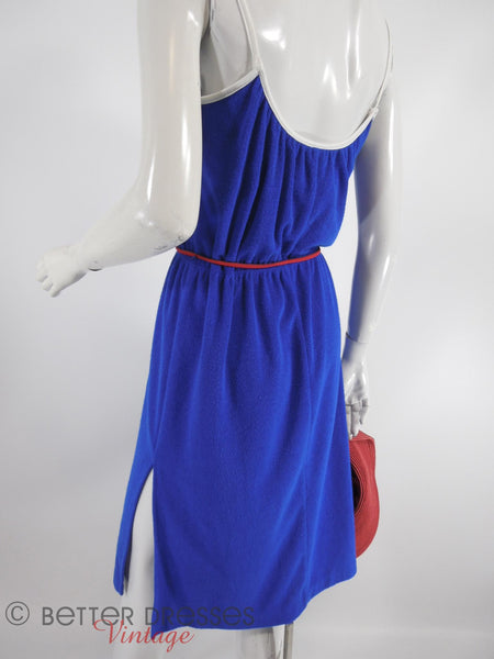 70s Catalina Terry Cloth Sundress - med, lg
