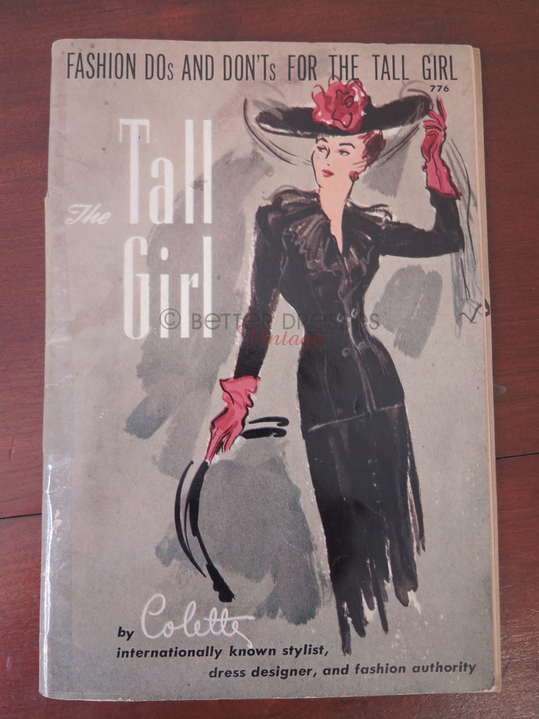 Fashion Dos and Don'ts for the Tall Girl Booklet cover
