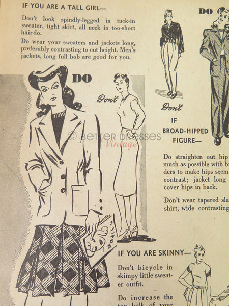Fashion Dos and Don'ts for the Tall Girl page