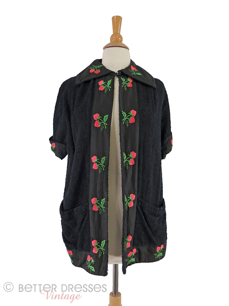 40s/50s Jantzen Terry Cover Up - front