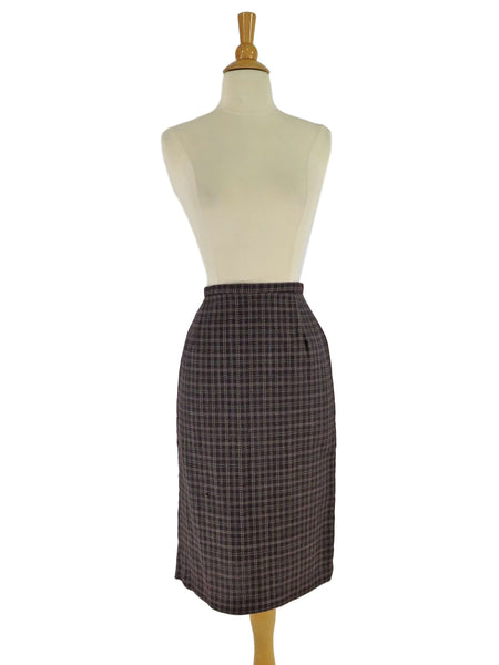 60s Tweed Pencil Skirt