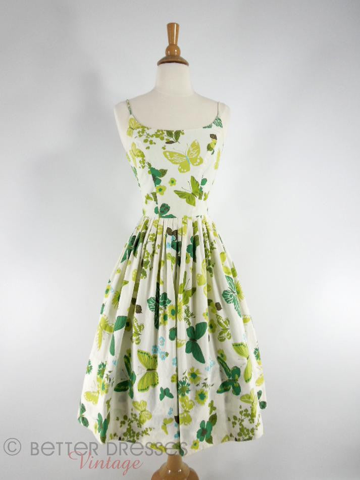 50s Butterflies Sundress - front