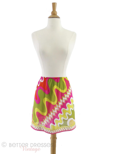 60s/70s Pucci for Formfit Half Slip - front