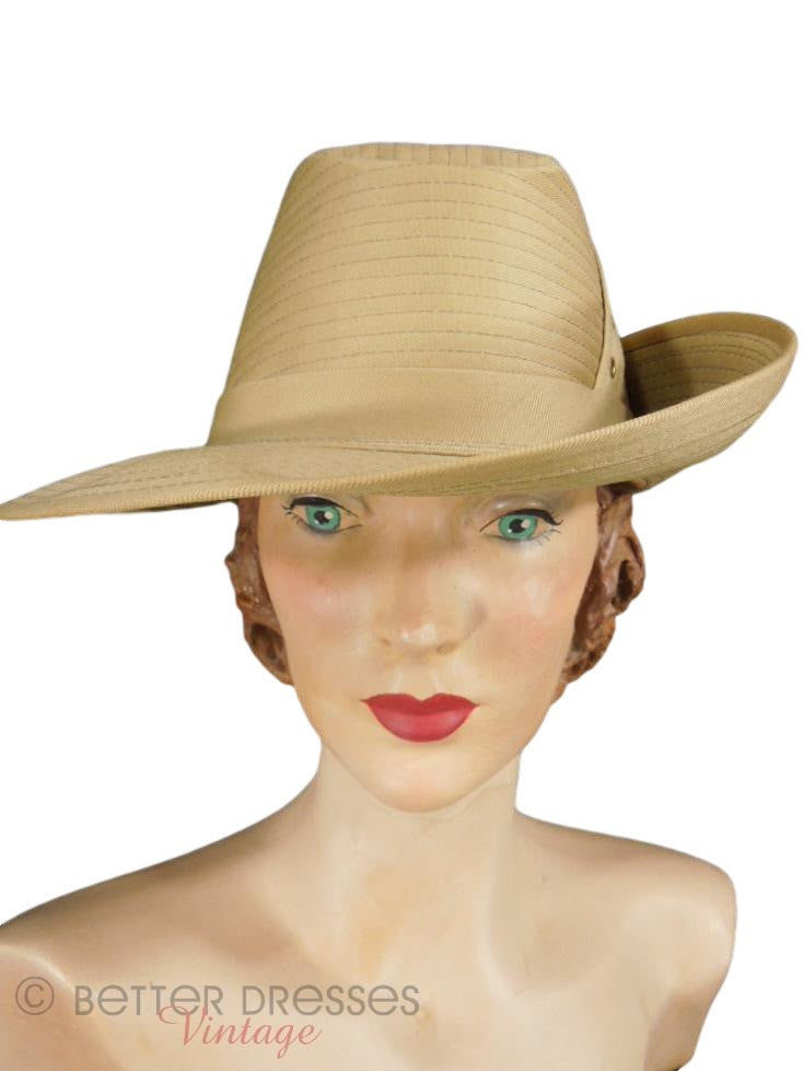 70s Dobbs Safari Hat