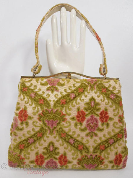 Ingber Chenille Purse - back