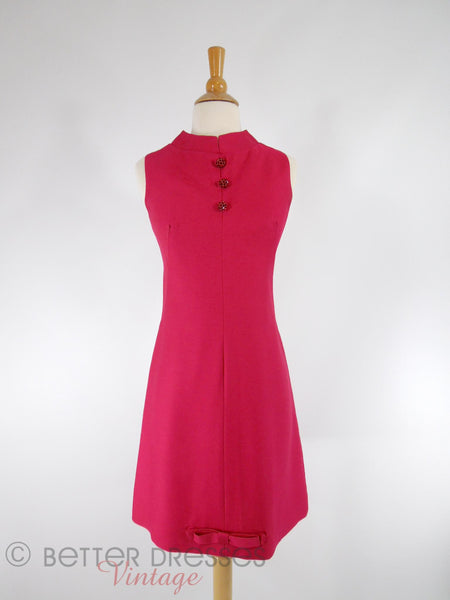 60s Mod Cocktail Dress - front