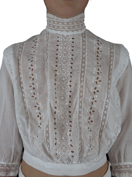Edwardian blouse