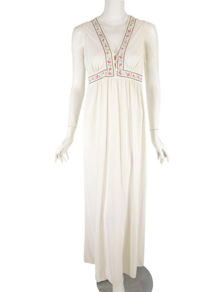 70s Gilead Peignoir Set - nightgown