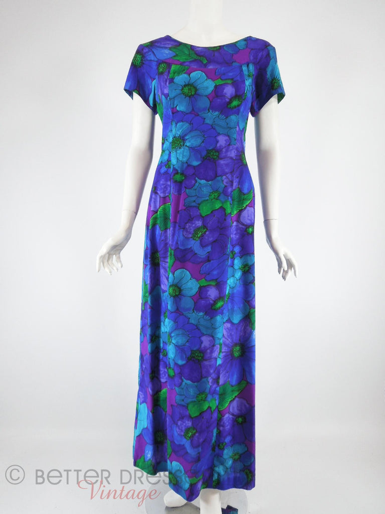 60s/70s Hawaiian Dress - front