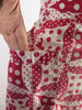 Deco Print red and white apron - pocket