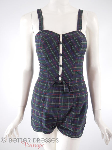 50s/60s Pin-Up Swimsuit and Playsuit - sm
