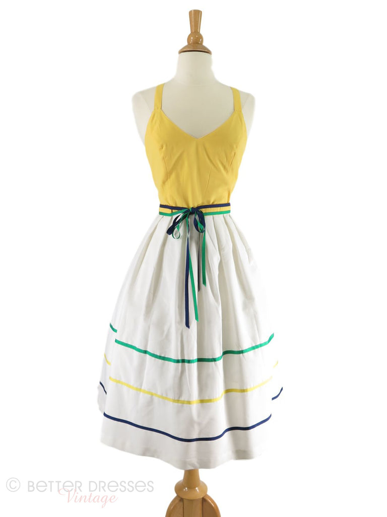 70s Sundress, shown with our crinoline