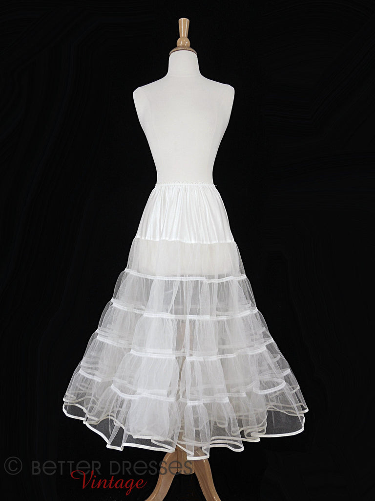 Modern Crinoline for Vintage 50s Styles - full view