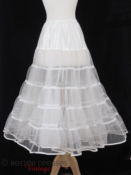Modern Crinoline for Vintage 50s Styles - close view