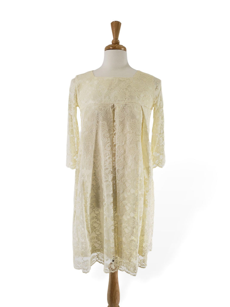 60s Lace Shift Dress