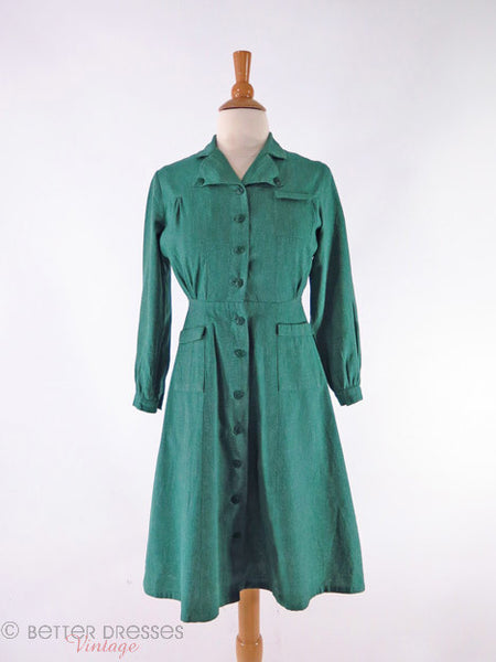 1940s Girl Scout Uniform - front