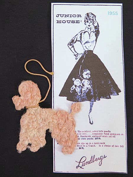 1950s Poodle Applique