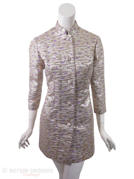 60s Metallic Jacket or Tunic