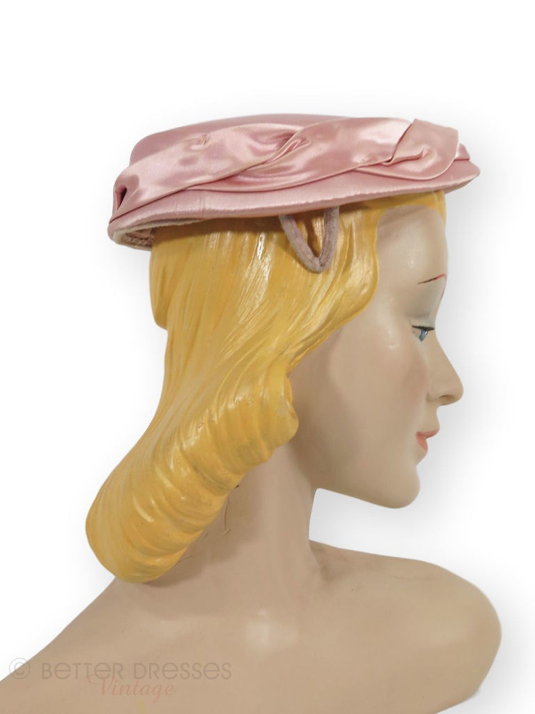 Pink 50s hat