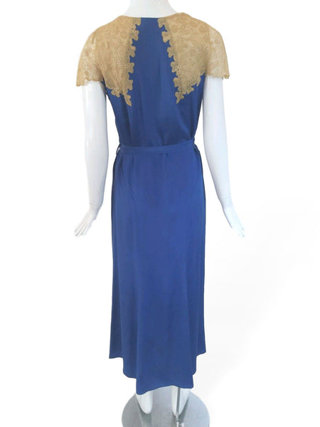 1930s Dress - back View