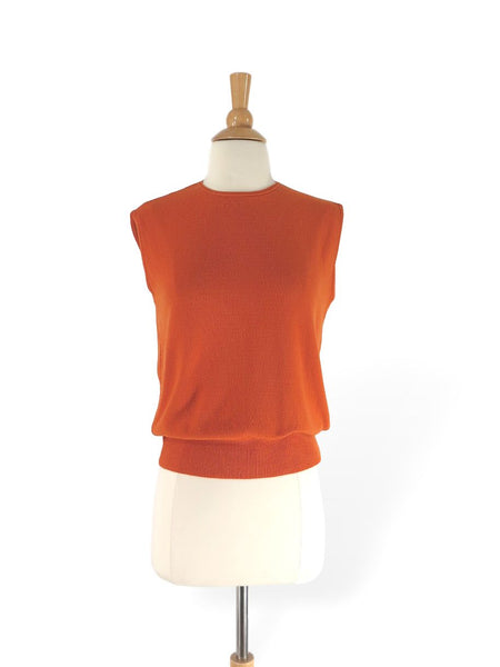 60s sleeveless sweater