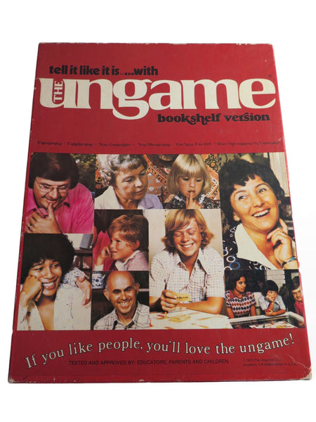 Vintage Board Game 1970s The Ungame