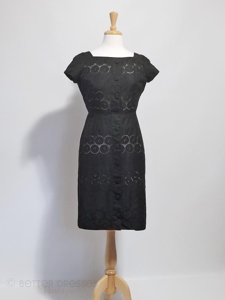 50s or early 60s Sheath Dress