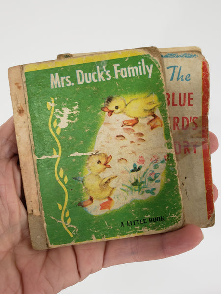 Mrs. Duck's Family and The Blue Bird's Story - A Little Book