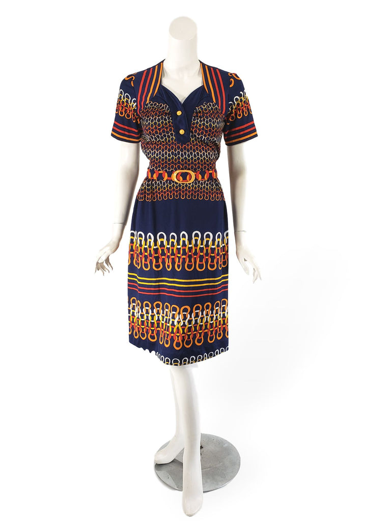 60s/70s Does 40s Day Dress