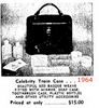 Celebrity train case advertisement from Dec. 6, 1964.