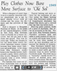1949 article about Margaret Newman Originals.